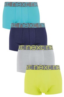 Next Fluro Colour Hipsters Four Pack