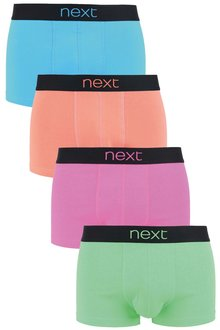 Next Neon Colour Hipsters Four Pack