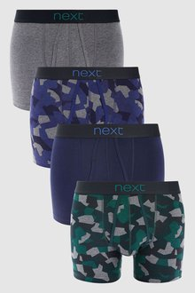 Next Marl Camo A-Fronts Four Pack