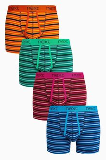 Next Graduated Stripe A-Fronts Four Pack