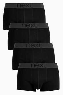 Next Cotton Hipsters Four Pack - 212193