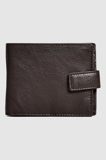 Next Signature Italian Leather Extra Capacity Popper Wallet - 212223
