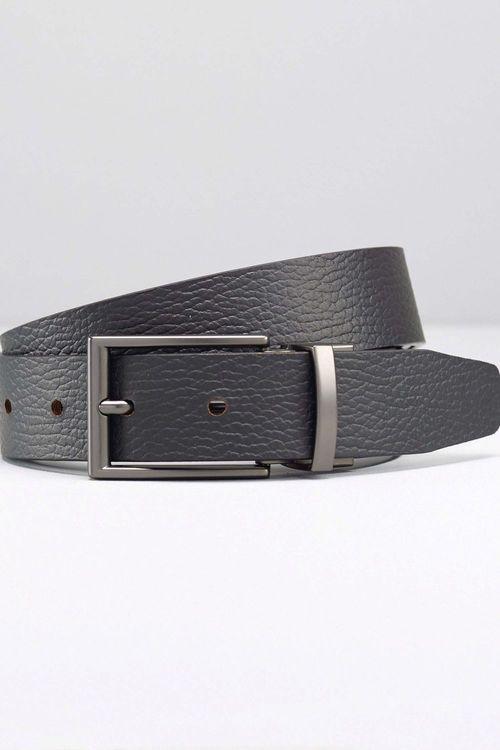 Next Reversible Leather Grain Belt