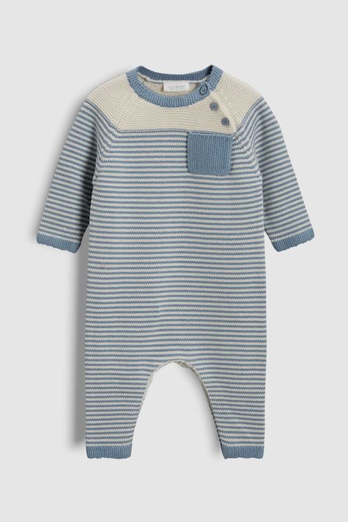 Next Stripe Knitted Romper (0mths-2yrs)