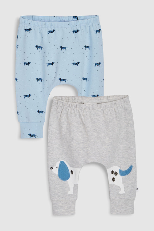 Next Dog Leggings Two Pack (0mths-2yrs)