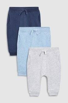 Next Joggers Three Pack (0mths-2yrs)