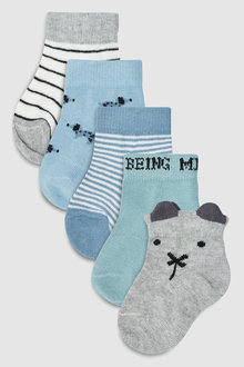 Next Multi Socks Five Pack (Younger)