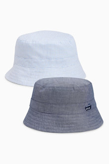 Next Fisherman Hats Two Pack (0mths-2yrs)