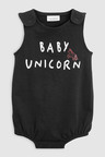 Next Unicorn Slogan Romper (0mths-2yrs)