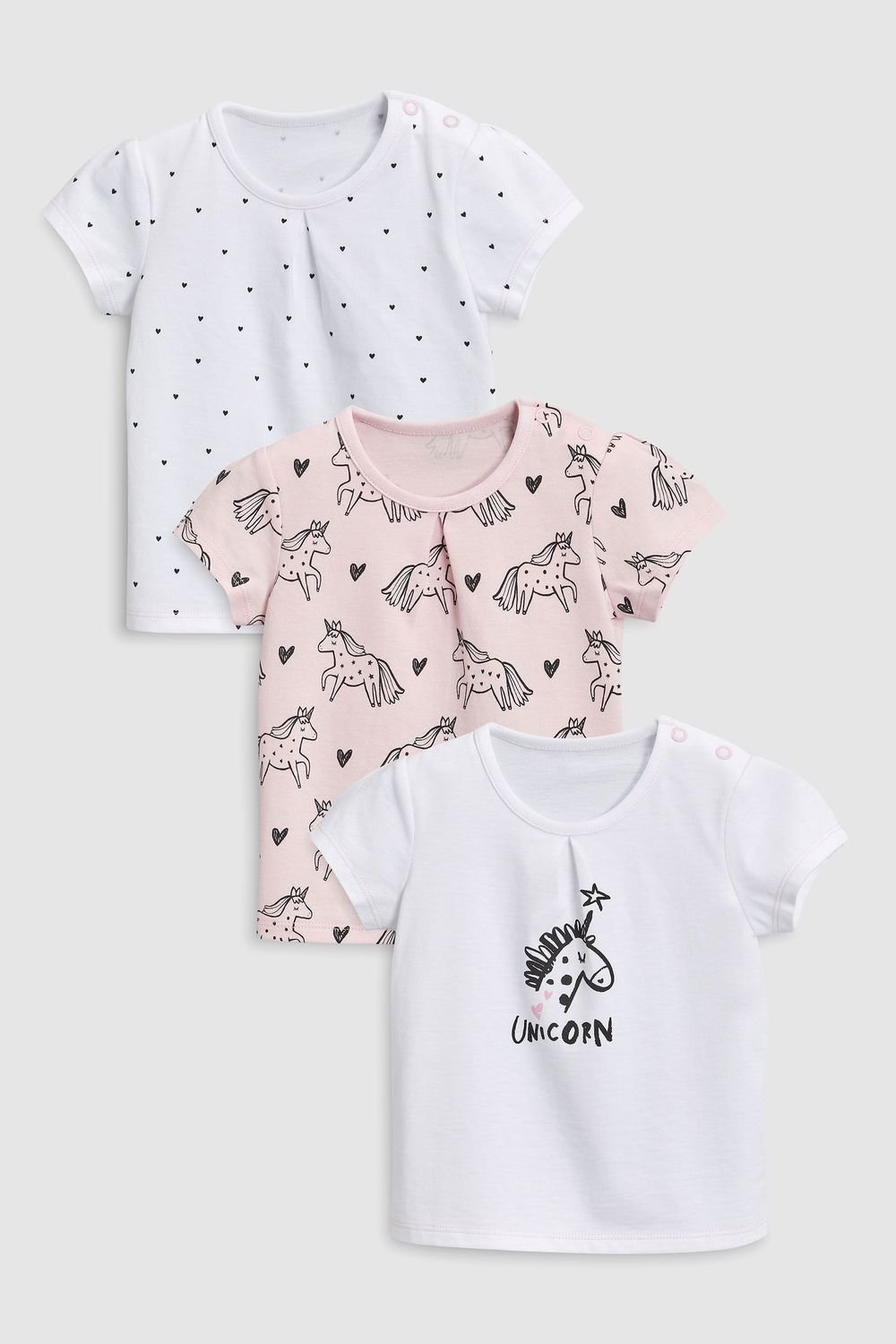 3408bcdcde72 Next Unicorn T-Shirts Three Pack (0mths-2yrs) Online