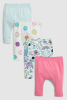 Next Unicorn Leggings Four Pack (0mths-2yrs)