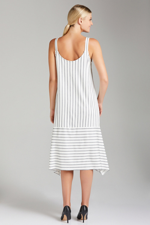 Capture Spliced Hem Dress