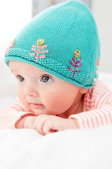 Next Embroidered Knitted Hat (0mths-2yrs)