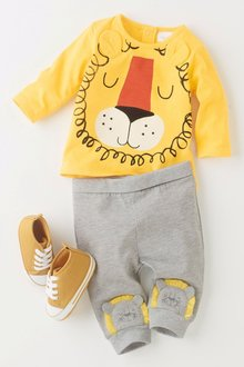 Next Lion T-Shirt And Leggings Set (0mths-2yrs)