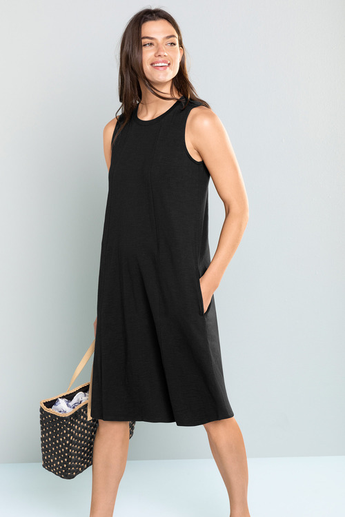 Capture Scoop Neck Pocket Dress