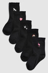 Next Embroidery Socks Five Pack (Older)