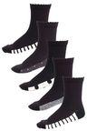 Next Monochrome Footbed Socks Five Pack (Older)