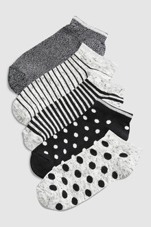 Next Trainer Socks Five Pack (Older)