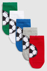 Next Football Socks Five Pack (Older)