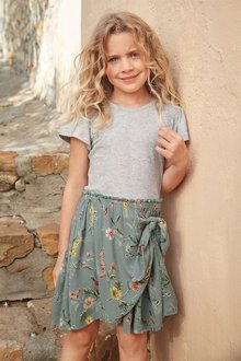 Next Tie Skirt Dress (3-16yrs)