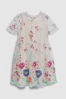Next Embroidered Mesh Dress (3-16yrs)