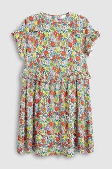 Next Frill Waist Dress (3-16yrs)