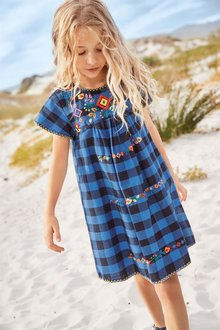 Next Embroidered Smock Dress (3-16yrs)