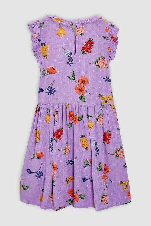 Next Ditsy Ruffle Dress (3-16yrs)