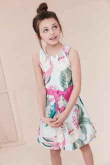 Next Lily Print Prom Dress (3-16yrs) - 212439