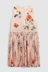 Next Rose Print Embellished Dress (3-16yrs)