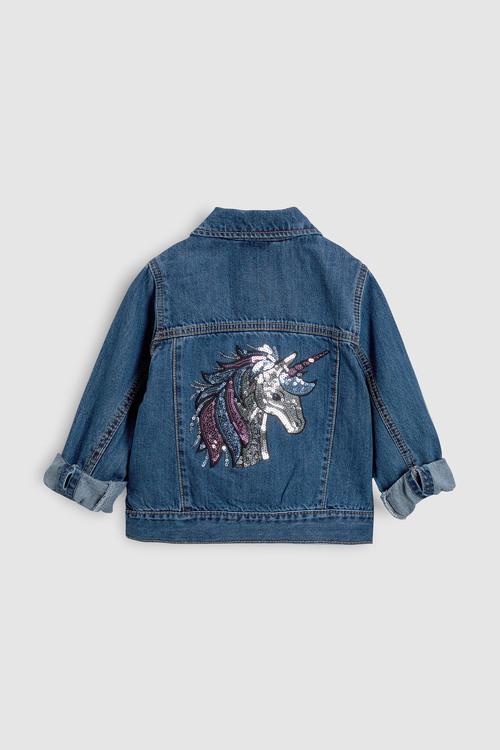 Next Sequin Unicorn Jacket (3-16yrs)