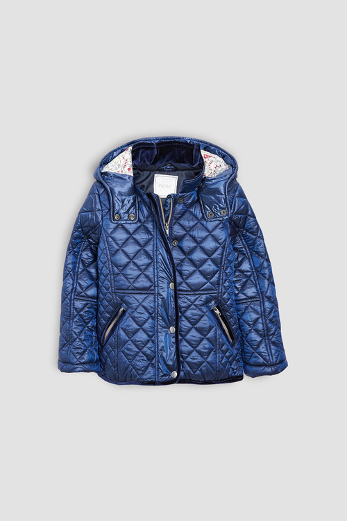 Next Short Quilted Jacket (3-16yrs)