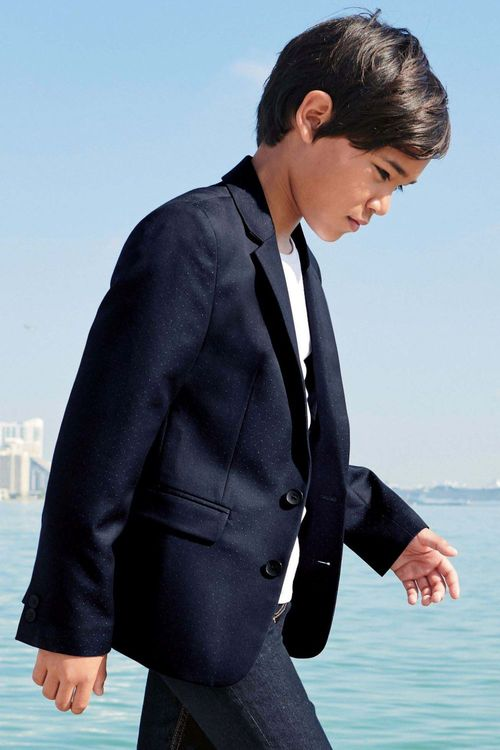 Next Pindot Suit Jacket (3-16yrs)