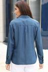 Euro Edit Lyocell Chambray Shirt