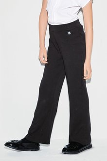 Next Jersey Boot Cut Trousers (3-16yrs)