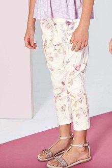 Next Floral Capri Trousers (3-16yrs)