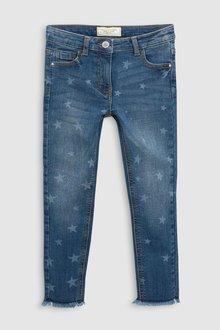 Next Star Print Skinny Jeans (3-16yrs)