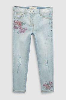 Next Floral Print Jeans (3-16yrs)