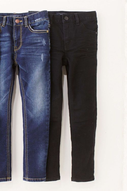 Next Five Pocket Jersey Super Skinny Jeans (3-16yrs)
