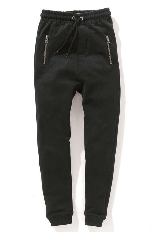 Next Tapered Leg Drop Crotch Joggers (3-16yrs)