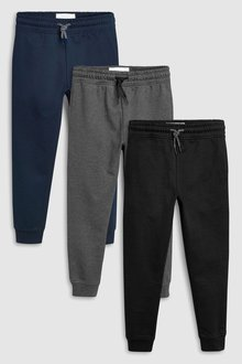 Next Joggers Three Pack (3-16yrs)