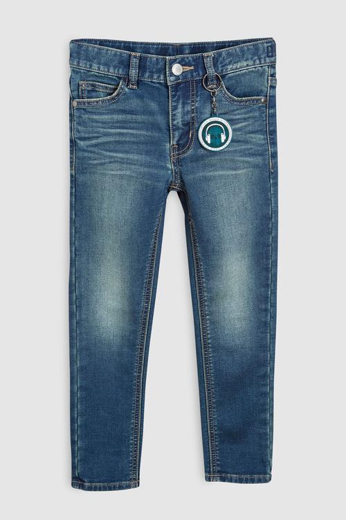 Next Tint Jersey Denim Five Pocket Jeans (3-16yrs)