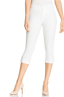 Capture Button Cuff Crop Pant - 212589