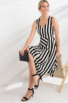 Capture Asymmetric Hem Dress