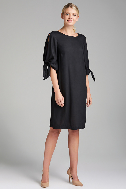 Capture Open Sleeve Dress