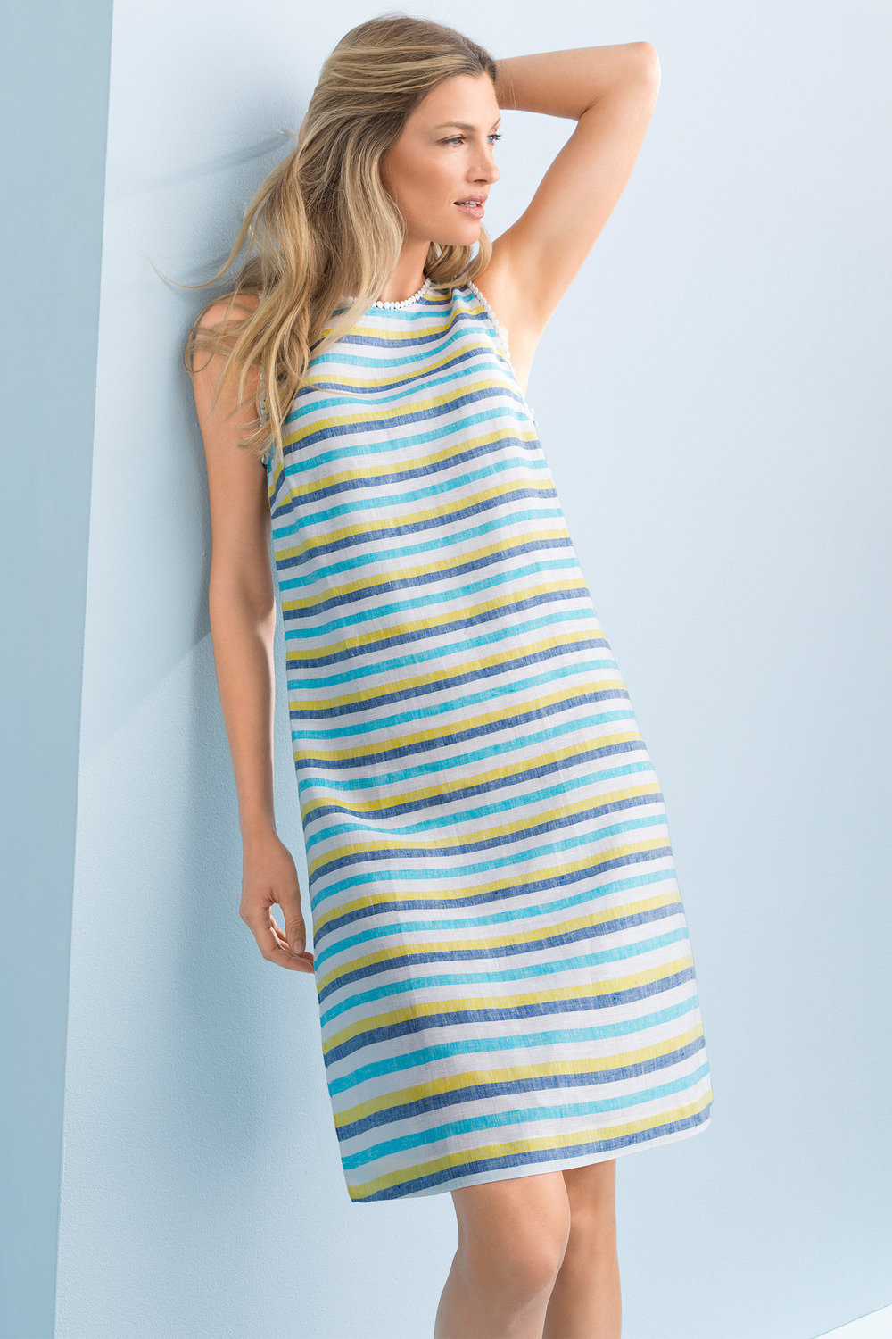 9e9345bef0 Capture Linen Summer Shift Dress Online