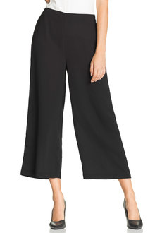 Capture Dressy Wide Leg Crop Pant