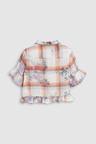 Next Cropped Frill Shirt (3-16yrs)