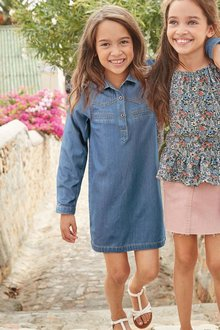 Next Stud Western Shirt Dress (3-16yrs)