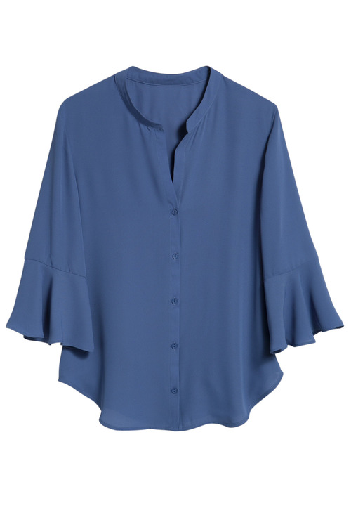 Capture Ruffle Sleeve Shirt